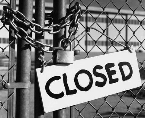 zamknięta kopalnia